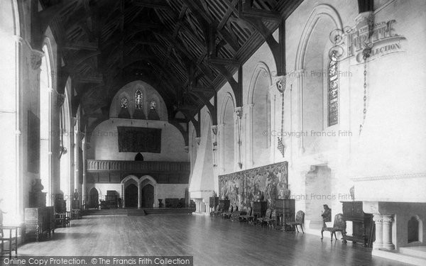Photo of Arundel, Castle, Great Hall 1898
