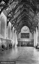 Arundel, Castle, Great Hall 1898