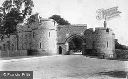 Arundel, Castle, New Entrance 1908