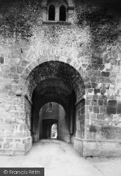 Arundel, Castle, Norman Gateway 1898
