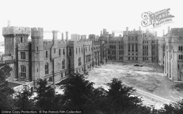 Arundel, Castle Quadrangle 1898