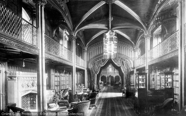 Photo of Arundel, Castle, The Library 1898
