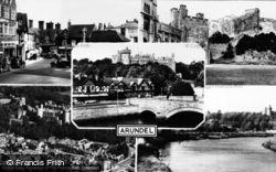 Arundel, Composite c.1955