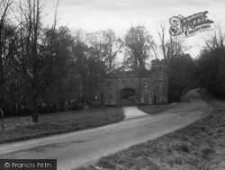 Arundel, Entrance To Castle c.1960