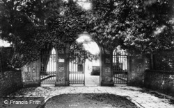 Arundel, Entrance To St Nicholas' Church 1908