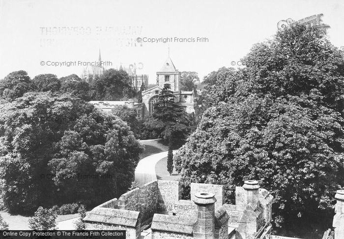 Photo of Arundel, From Castle 1908