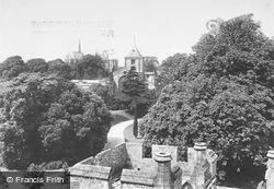 Arundel, From Castle 1908