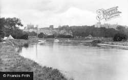 Arundel, From The River Arun 1928