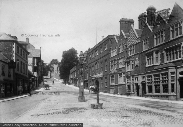 Photo of Arundel, High Street 1900