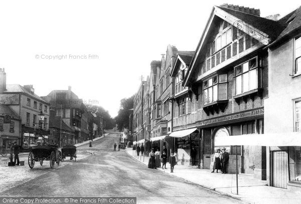 Photo of Arundel, High Street 1906