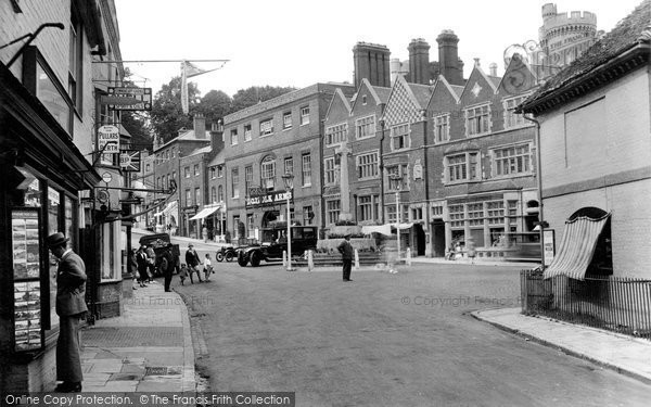 Photo of Arundel, High Street 1928