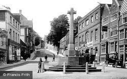 High Street And War Memorial 1923, Arundel
