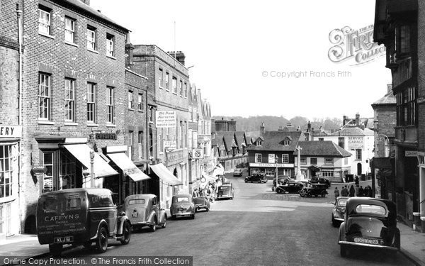 Photo of Arundel, High Street c.1955