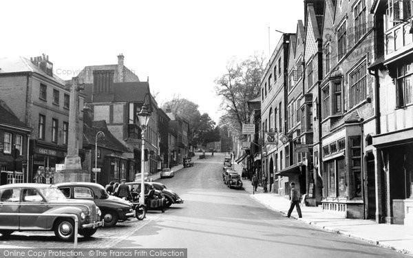 Arundel, High Street c.1955