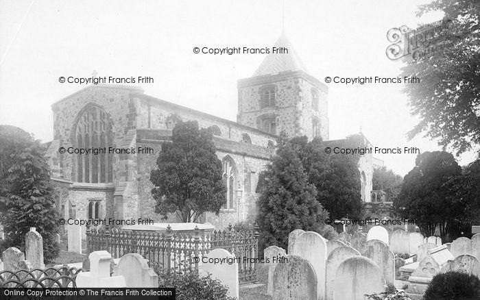 Photo of Arundel, Parish Church Of St Nicholas 1890