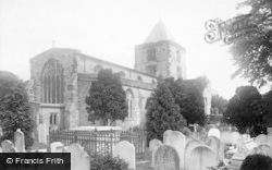 Arundel, Parish Church Of St Nicholas 1890