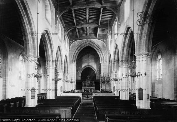 Photo of Arundel, Parish Church Of St Nicholas, Interior 1891