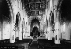 Arundel, Parish Church Of St Nicholas, Interior 1891