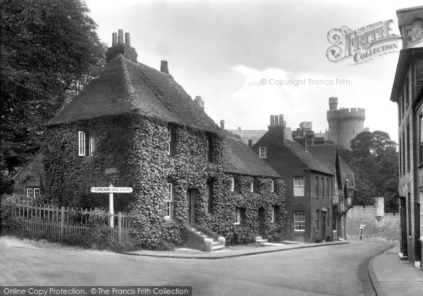 Photo of Arundel, Pretty Corner 1928