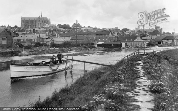 Photo of Arundel, River Arun 1928