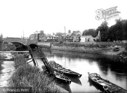 River Arun And Bridge 1939, Arundel