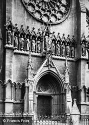 Arundel, St Philip Neri Roman Catholic Church, Door 1898