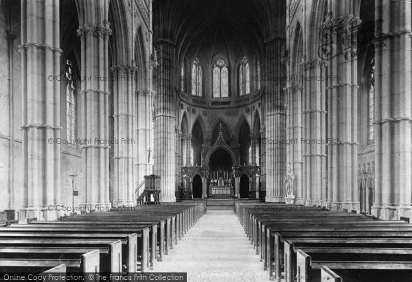 Photo of Arundel, St Philip Neri Roman Catholic Church Interior 1908