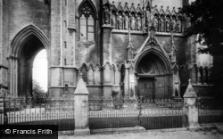 Arundel, St Philip Neri Roman Catholic Church, West Front 1906