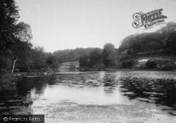 Arundel, Swanbourne Lake 1891