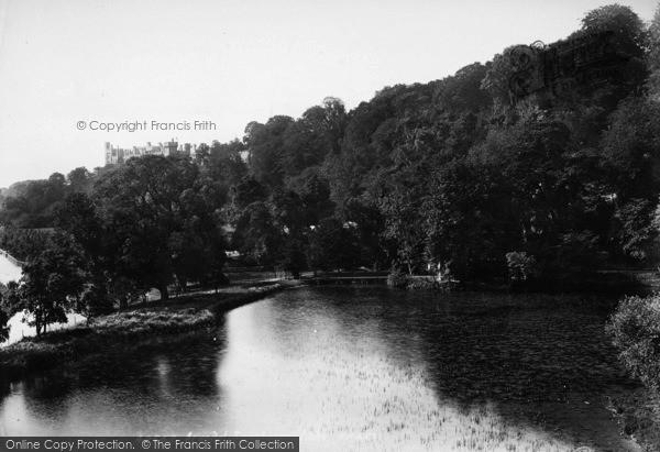 Photo of Arundel, Swanbourne Lake 1898