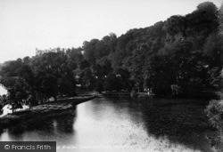 Arundel, Swanbourne Lake 1898