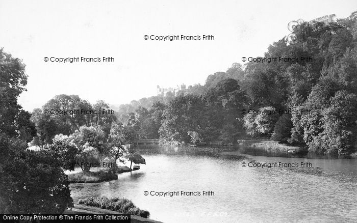 Photo of Arundel, Swanbourne Lake And Castle 1898