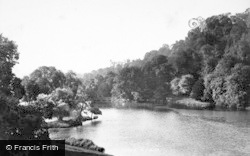 Arundel, Swanbourne Lake And Castle 1898