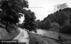Arundel, Swanbourne Lake c.1955