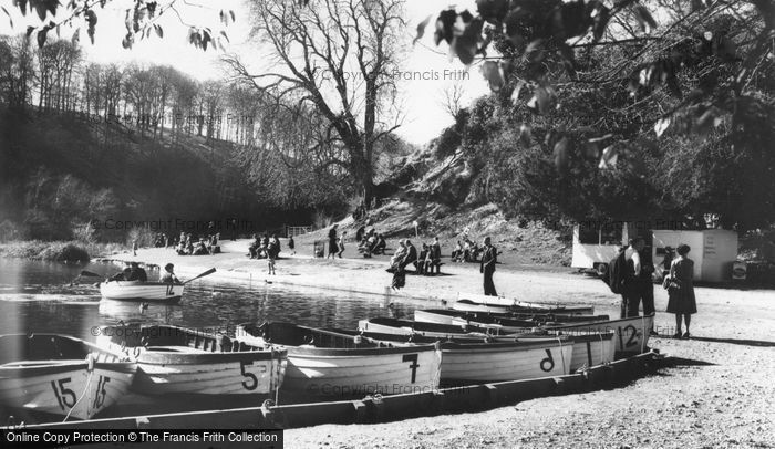 Photo of Arundel, Swanbourne Lake c.1960
