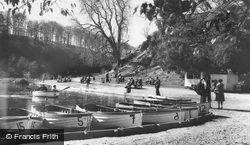 Arundel, Swanbourne Lake c.1960
