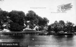 Arundel, Swanbourne Lake Cottage 1898