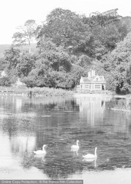 Photo of Arundel, Swanbourne Lodge And Lake c.1930