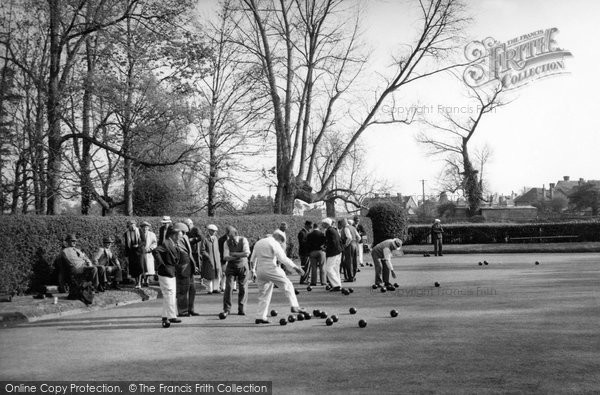 Photo of Arundel, The Bowling Green c.1955