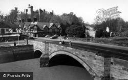 Arundel, The Bridge c.1960