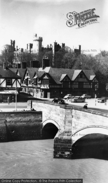 Photo of Arundel, The Bridge c.1960