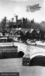 Arundel, The Bridge c.1960