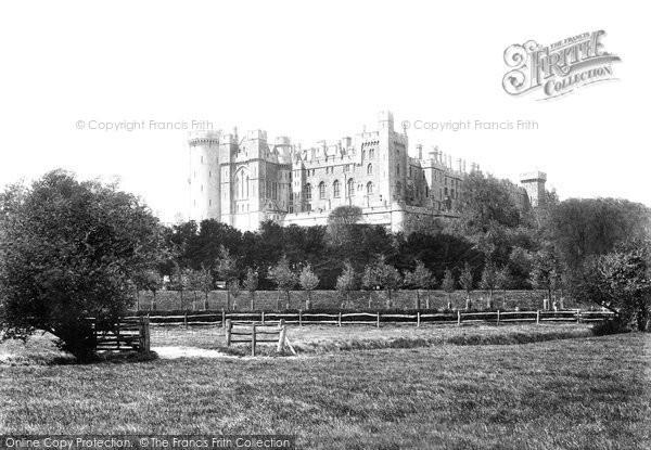 Arundel, The Castle 1900