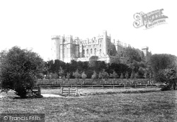 Arundel, The Castle 1900