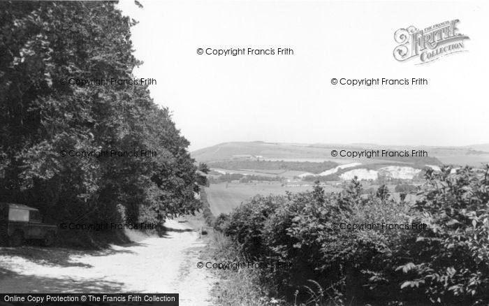 Photo of Arundel, The Downs c.1960