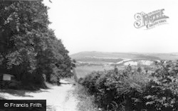 Arundel, The Downs c.1960