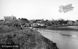 The River Arun c.1960, Arundel
