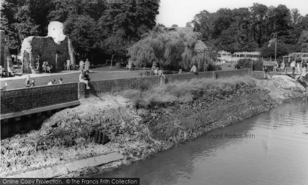 Photo of Arundel, The River Arun c.1960