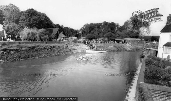 Photo of Arundel, The River Arun c.1960