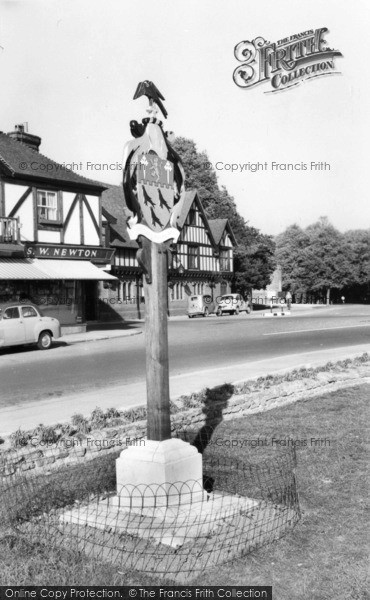 Photo of Arundel, Town Coat Of Arms c.1960